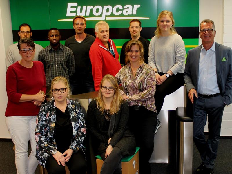 Geschäftsführer Stefan Vorndran (rechts) und das Organisations- und Helfer-Team.