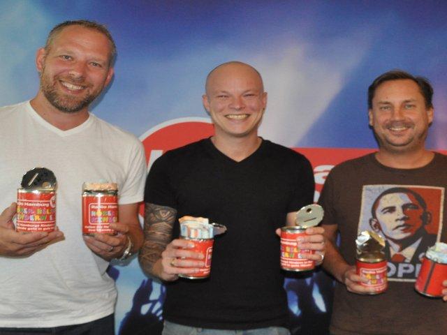 Lars Trapper, Rouven Lovett und Sören Lippstock