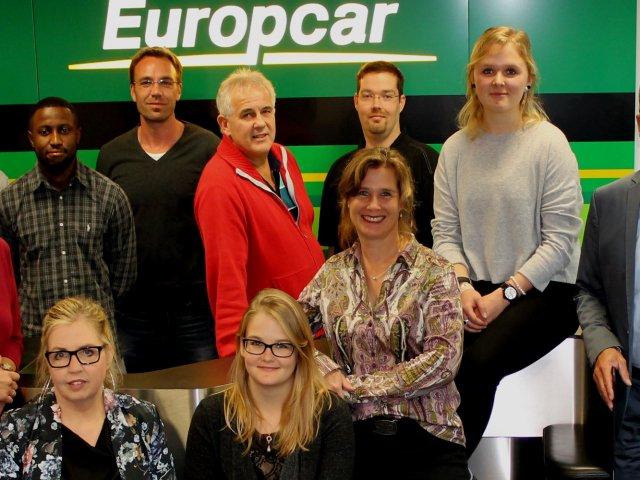 Geschäftsführer Stefan Vorndran (rechts) und das Organisations- und Helfer-Team