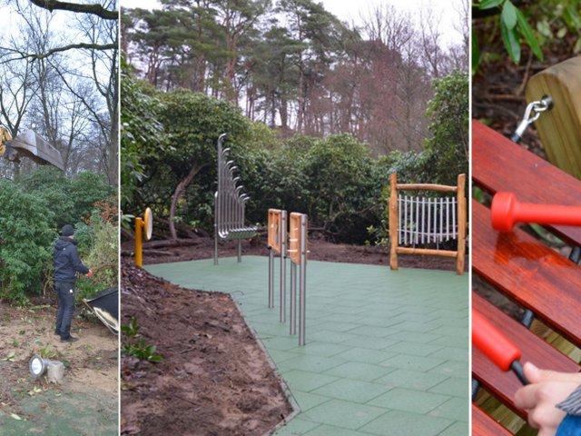Collage-Klanggarten-Kinderhospiz-Sternenbrücke
