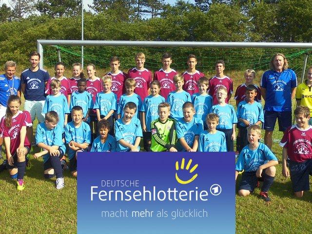 Introbild-Fernsehlotterie-Fußballcamp