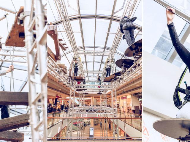 Kletteraktion Alstertal-Einkaufszentrum