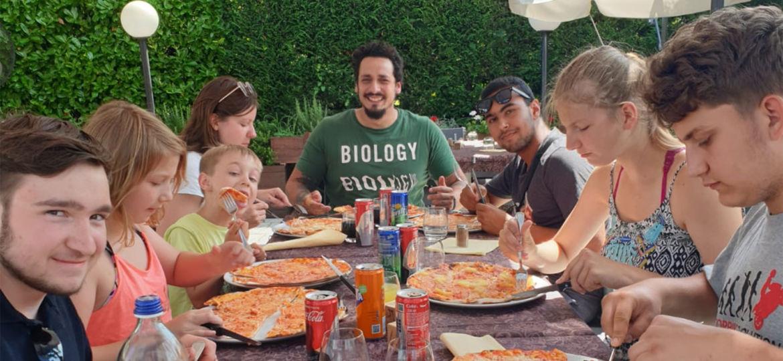 AWO Kinderhaus am See auf Italienreise finanziert durch Hörer helfen Kindern