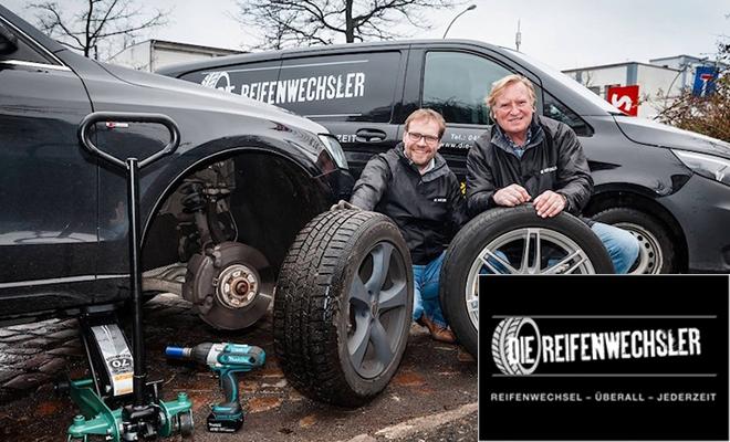 """Spendenaktion bei """"Die Reifenwechsler"""""""