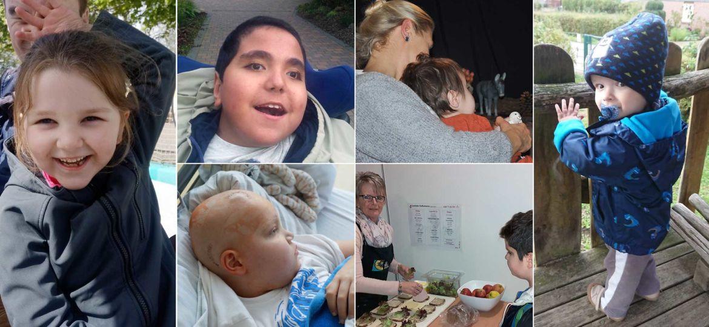Collage Hörer helfen Kindern Spendenmarathon 2019