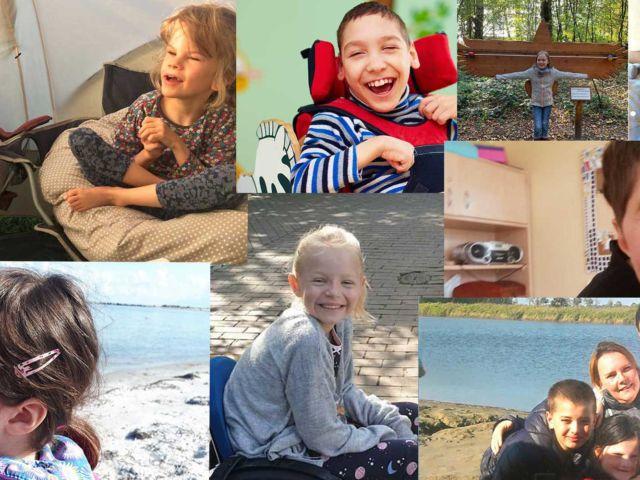 Collage Hörer helfen Kindern Weihnachtssammlung 2019 Einzelaufrufe