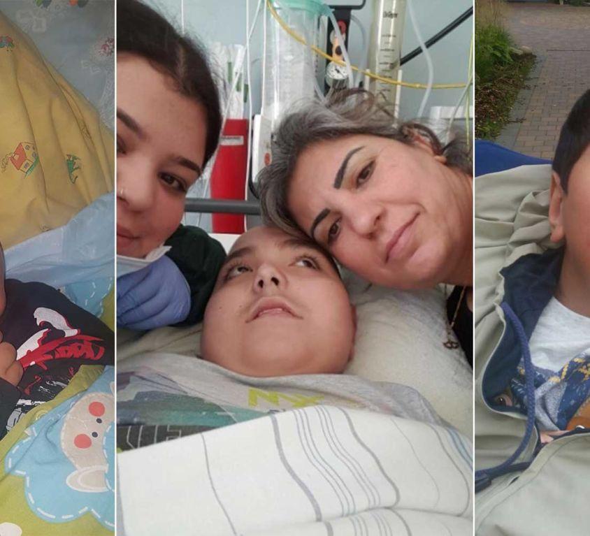 Introbild Hörer helfen Kindern Spendenmarathon Sinneswagen für Ismail