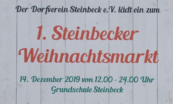 Babys im Glück: Tombola auf dem Steinbecker Weihnachtsmarkt