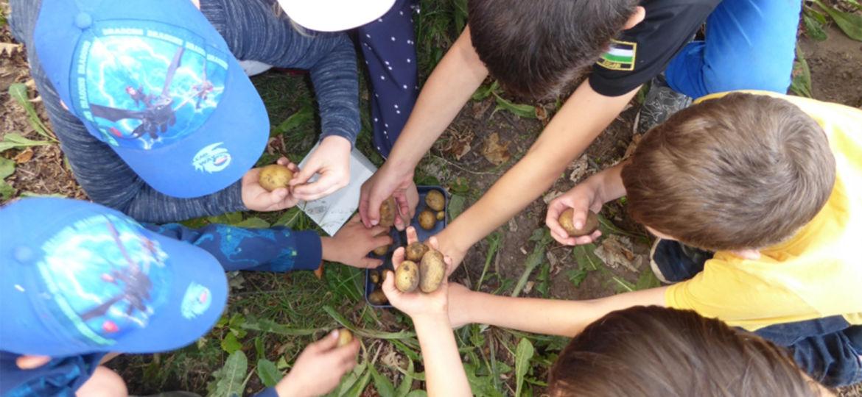 Introbild Projekt Kindergärten finanziert durch Hörer helfen Kindern