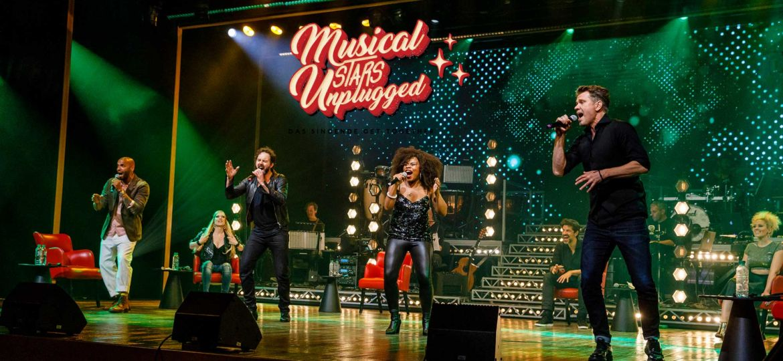 Introbild Musicalstars unplugged für Hörer helfen Kindern
