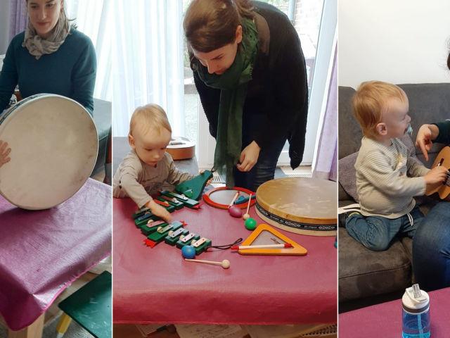 Introbild Musiktherapie für den nierenkranken Florian finanziert von Hörer helfen Kindern e.V.
