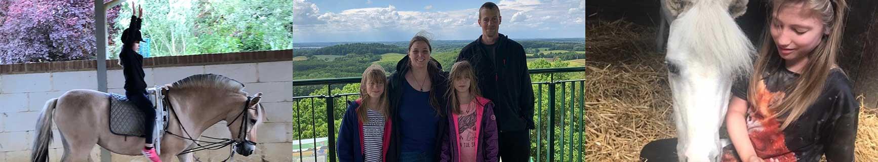 Banner Hörer helfen Kindern Spendenmarathon 2020 Reittherapie für die Zwillinge Lea-Sophie und Tabea-Marie