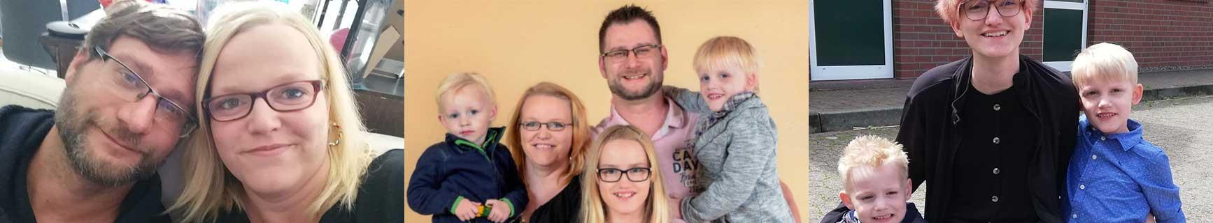 Banner Hörer helfen Kindern Weihnachtssammlung 2020 PKW für Familie Bergmann