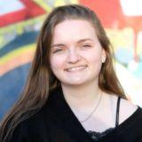 Hörer helfen Kindern Mitarbeiterin Emily Kleenworth