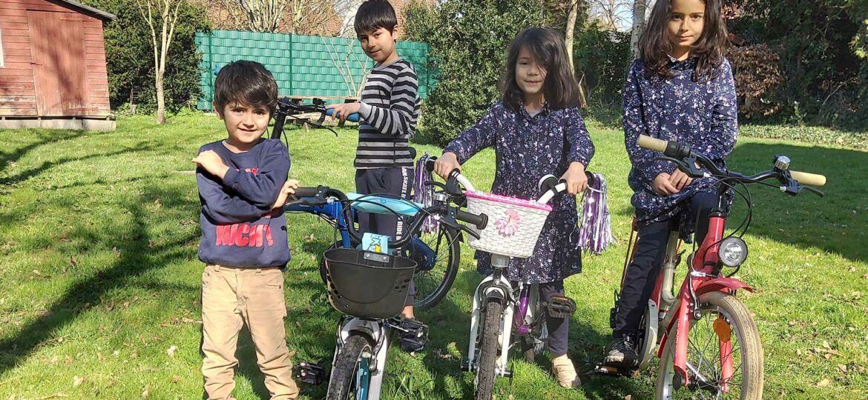 Introbild Möbel und Fahrräder für Sorush, Mitra, Sama und Forough finanziert von Hörer helfen Kindern