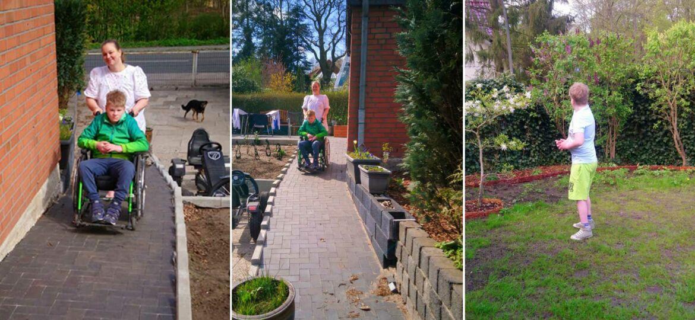 Introbild Barrierefreier Garten für Tino Prün