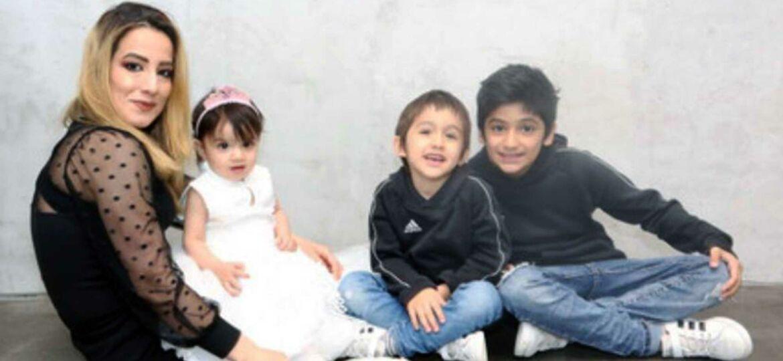 Introbild Familie Zamani erhält Spende von Hörer helfen Kindern