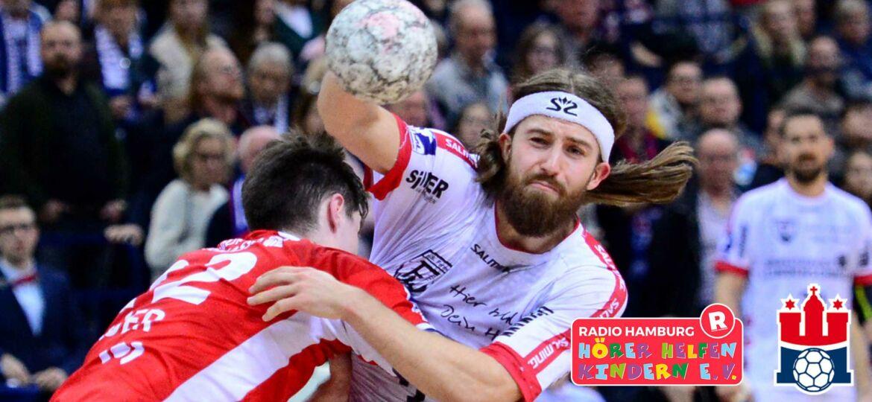 Introlbild HSV Handball unterstützt Hörer helfen Kindern bei Heimspielen