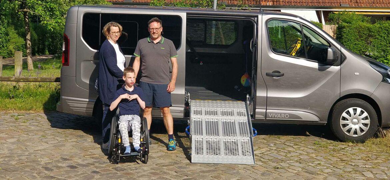 Introbild Behindertengerechter PKW für Andre aus Tangstedt finanziert von Hörer helfen Kindern