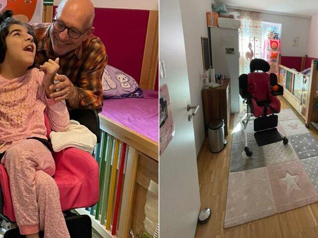 Introbild Nida hat ihr neues Kinderzimmer finanziert von Hörer helfen Kindern