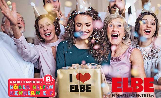 55 Jahre ELBE Einkaufszentrum: Gewinnen und spenden