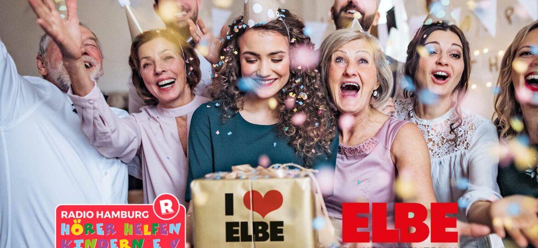 Introbild ELBE Einkaufszentrum wird 55 Jahre alt und unterstützt Hörer helfen Kindern