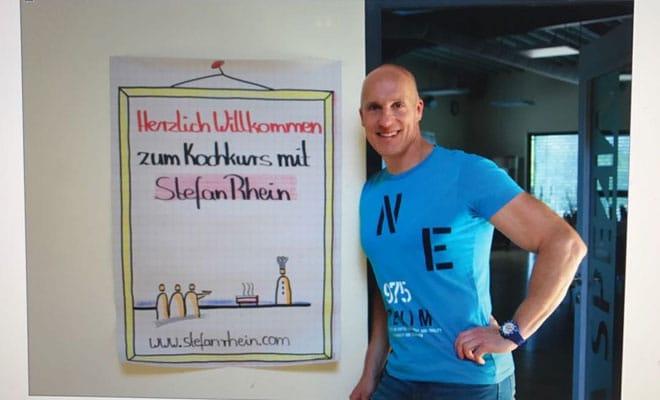 Stefan Rhein – Kochbuch gegen Spende